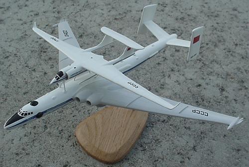# zhopa156            Myasishchev 3M-T/VM-T Atlant with M-17PV spy plane 1