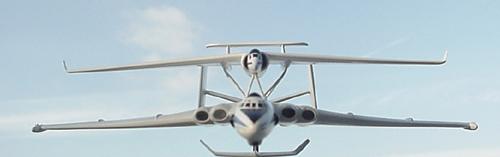 # zhopa156            Myasishchev 3M-T/VM-T Atlant with M-17PV spy plane 3