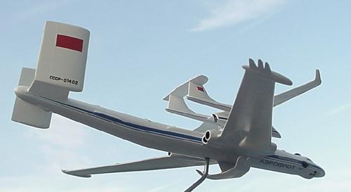 # zhopa156            Myasishchev 3M-T/VM-T Atlant with M-17PV spy plane 4