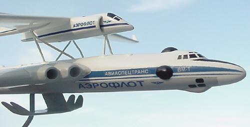 # zhopa156            Myasishchev 3M-T/VM-T Atlant with M-17PV spy plane 5