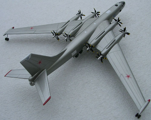 # zhopa069            Myasishchev Aircraft-M with engines TV-2F 2