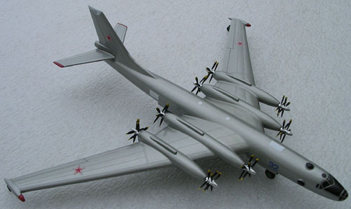 # zhopa069            Myasishchev Aircraft-M with engines TV-2F 3