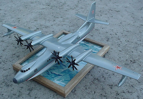 # zhopa121            Beriev antisubmarine sea plane 1962 project 1