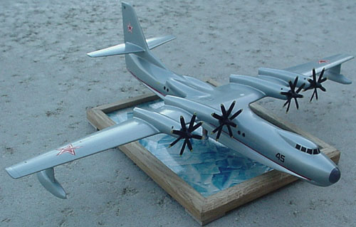 # zhopa121            Beriev antisubmarine sea plane 1962 project 3