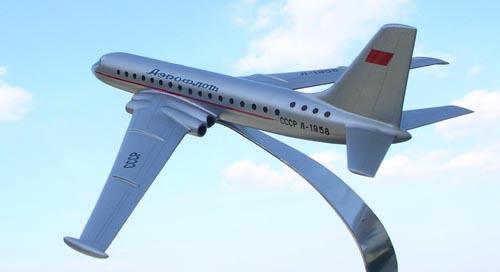 # zhopa067            M-29 (M-4P) Myasischev passenger transport project 4