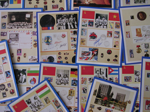 # cp110            Soviet issued postcards 3
