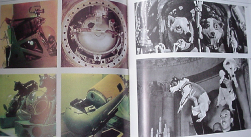 # cb096            13 early cosmonauts signed book `Conquest of Cosmos` 4