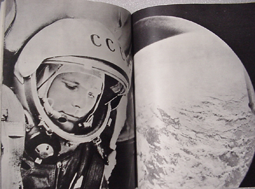 # cb203            Gagarin book autographed by 7 cosmonauts 5