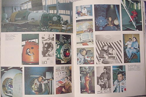 # cb205            Star City-Zvyozdniy book signed by 5 cosmonauts 3