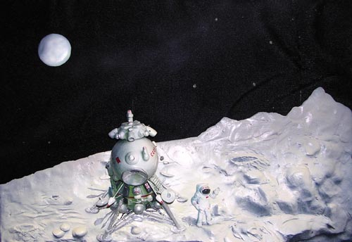 # spa701            Lunar Lander 3-D artwork of V.Ruban 1