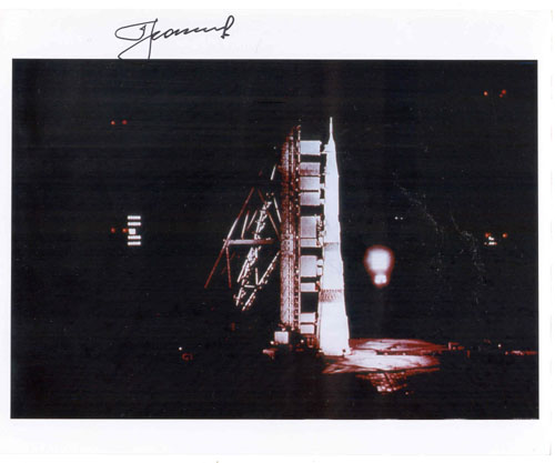 # iph500            N-1 Moon manned rocket photos signed by Leonov 1