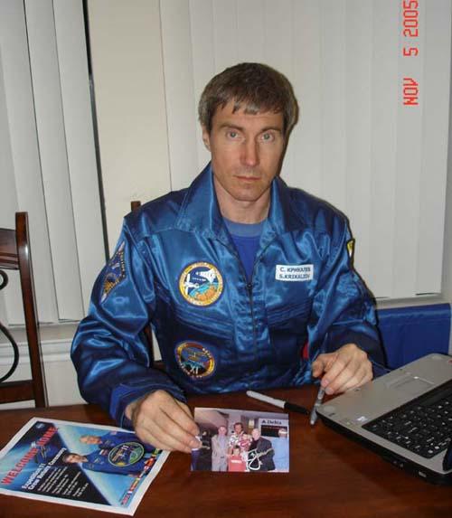 # ci276            Sergei Krikalev-803 days flown on orbit 1