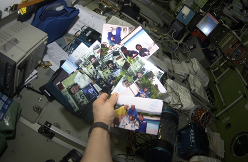 # ci286a            Soyuz-ISS flown family photos 1