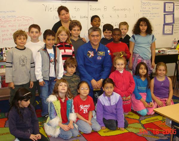# ci274            Cosmonaut in Nestle school 1