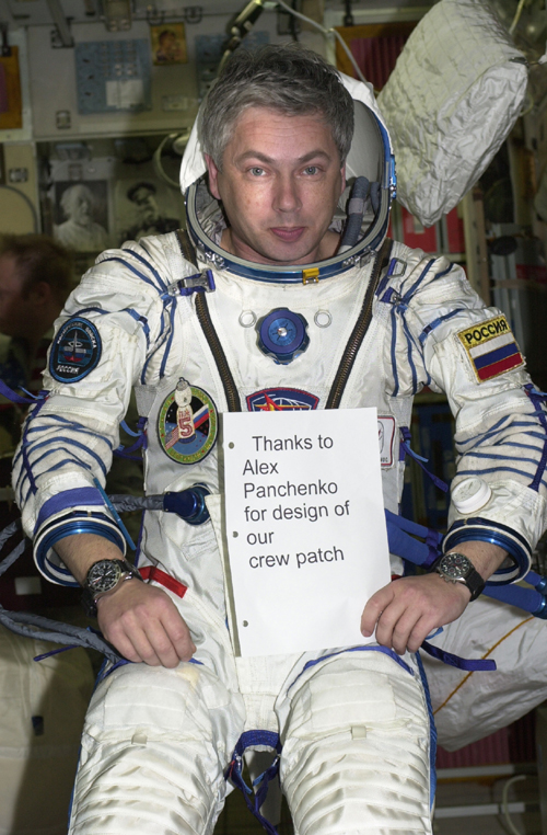 # ci286            Space Forces cosmonaut Y.Shargin on ISS 1