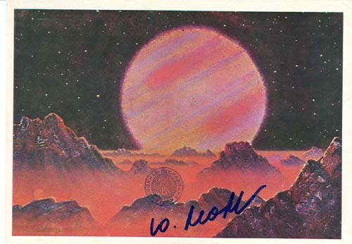 # ma615            A.Leonov artwork card On Jupiter`s Satellite 1