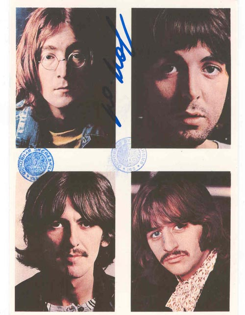 # ma299a            The Beatles rock band cards flown on ISS 1