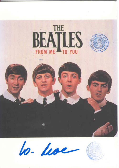 # ma299a            The Beatles rock band cards flown on ISS 3