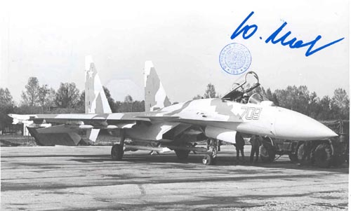 # ma386            Su-35 interceptor aircraft photo 1