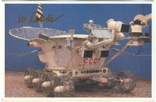 # ma354a            Second Soviet Moon Rover Lunokhod-2 card 1