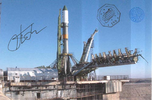 # gp922            Five Progress rocket launch flown photos 1