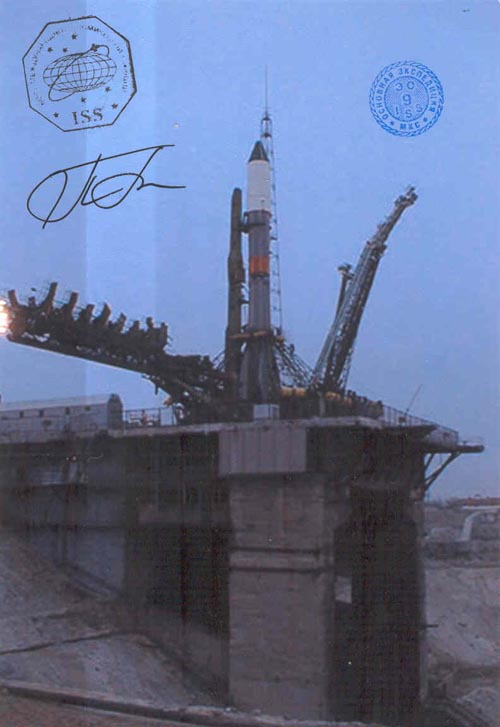 # gp922            Five Progress rocket launch flown photos 4
