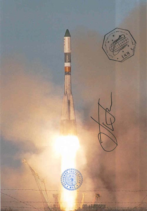 # gp922            Five Progress rocket launch flown photos 5