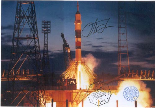 # gp923            Soyuz rocket start flown photo 1