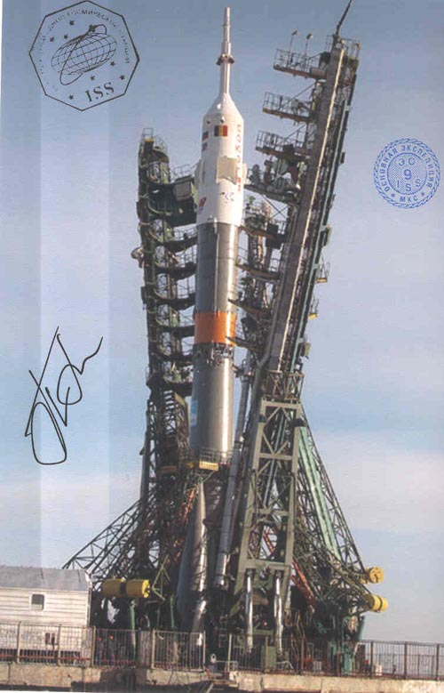 # gp925            Soyuz Baikonur launch flown 4 photos 2