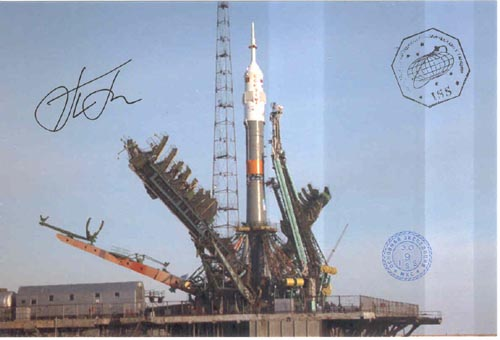 # gp925            Soyuz Baikonur launch flown 4 photos 3