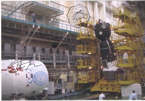 # gp926            Soyuz TMA ship and rocket carrier 2 flown pho 2