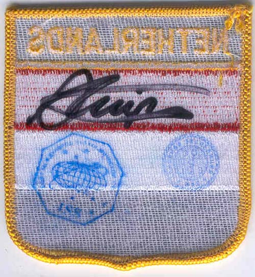 # gp501            The Netherlands flown flag patch 2