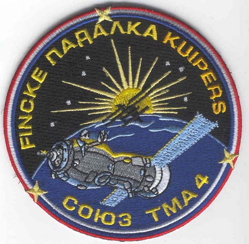 # gp504            Soyuz TMA-4 flown patch 1