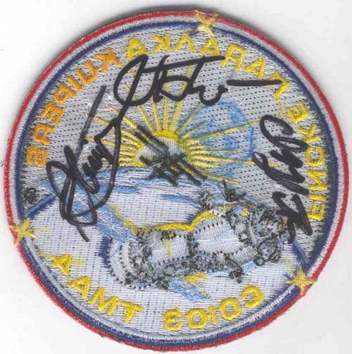 # gp504            Soyuz TMA-4 flown patch 2