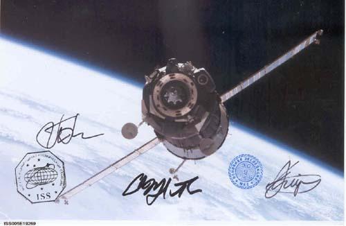 # gp603            Soyuz TMA flown photo 1