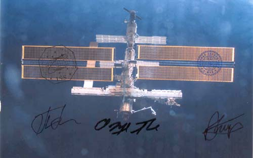 # gp902            Space Station on orbit flown photo 1