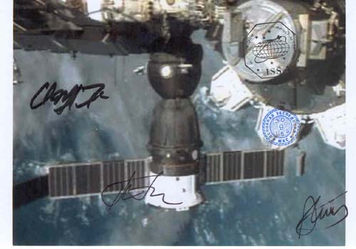 # gp905            Soyuz TMA/ISS docked flown photo 1