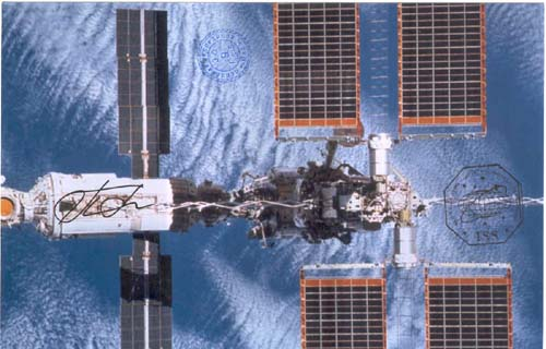 # gp909            Space station flown photo 1