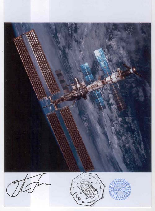 # gp911            International Space Station flown photo 1