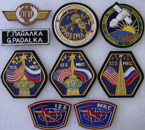 # gp250            Soyuz TMA-4/ISS-9 flown patches 1