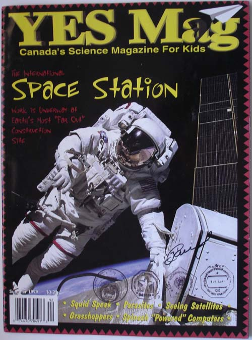 # mir500            Flown Canadian space magazine YES 1