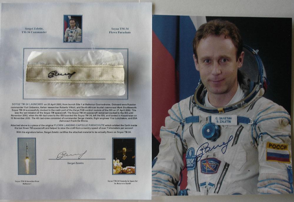 # zal499            Soyuz TM-34 flown parachute 2