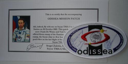 # zal400            Soyuz TMA-1 Odissea Russia-Belgium mission p 1