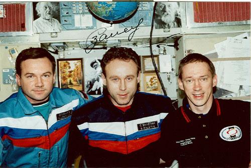 # zal400            Soyuz TMA-1 Odissea Russia-Belgium mission p 3
