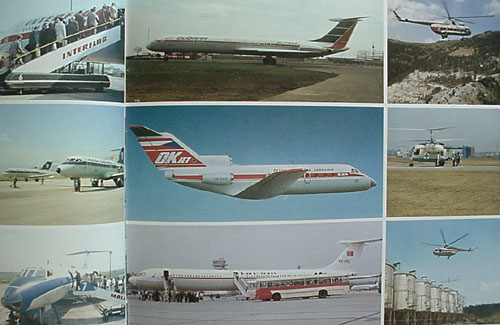 # bvc130            Soviet Aviation on the World Market presentation book 5