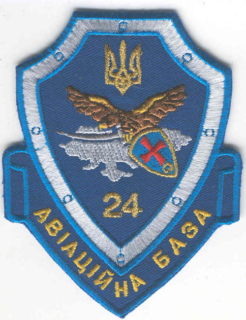 # avpatch193            24 base of Ukrainian airforces pilot patch 1