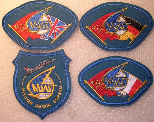 # avpatch088            1990 MIG World Tour Mig-29 pilot patches 1