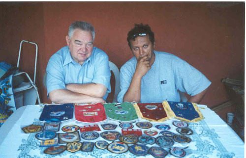 # ic300            August 2002 photos with cosmonaut Georgy Grechko 1