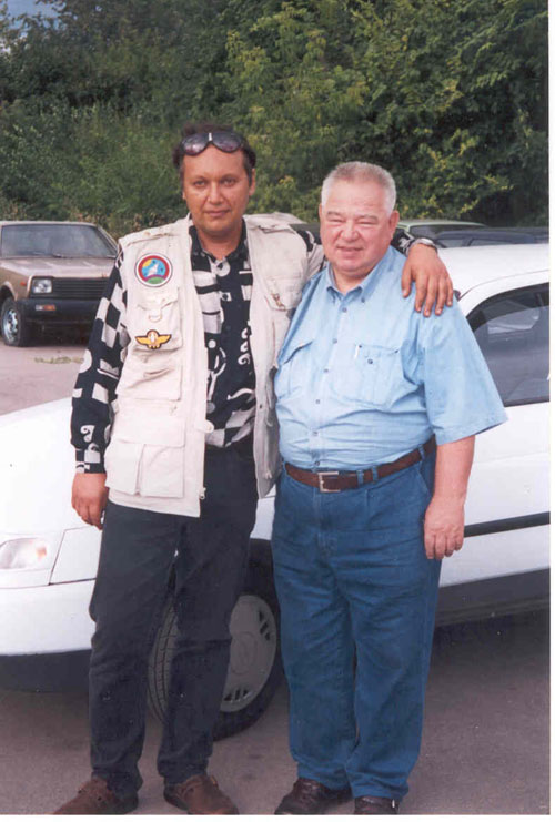 # ic300            August 2002 photos with cosmonaut Georgy Grechko 3