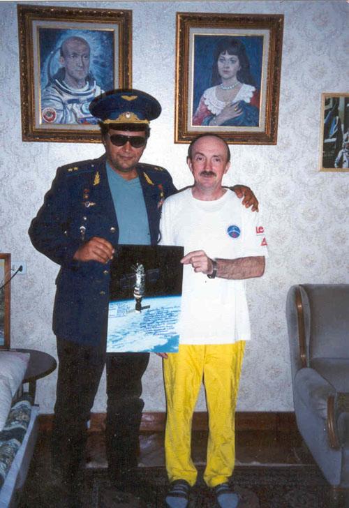 # ic420            In Star City home of cosmonaut Vladimir Vasyutin 1